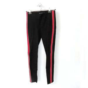 3/30 💥 Black Trouser with Red Side Stripe